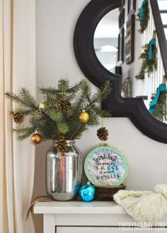 Ideas decorar en Navidad #Decoracion #Navidad #HomeDecor  #Christmas