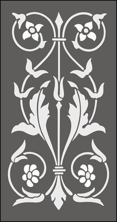 Regency and Empire stencils from The Stencil Library. Buy from our range of Regency and Empire stencils online. Page 2 of our Regency and Empire panel stencil catalogue. Stencil Patterns, Stencil Painting, Stencil Designs, Embroidery Patterns, Stenciling, Stencils Online, Motif Art Deco, Arte Tribal, 3d Prints