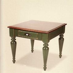 Countryside End Table MSRP $400.- Sale price $336.- Comes in a vast array of color choices