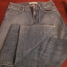 J Brand Jeans Great condition! Inseam 34 - always thought I'd get them altered but just never did - so they're cute as can be but way too long for me! J Brand Jeans Flare & Wide Leg