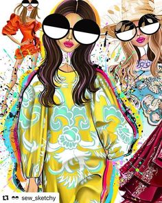 you've been such a chic year! 🥂Cheers to all of you incredibly beautiful people who I LOVE so much and who I LOVE shmoozing with on… Fashion Illustration Chanel, Love Illustration, Fashion Illustrations, Bright Toe Nails, Cute Christmas Wallpaper, Pop Stickers, Fashion Design Drawings, Painted Clothes, Indian Paintings