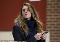 Hope Hicks pushed President Trump to take control of the coronavirus briefings, which popped up his approval ratings for a few weeks, but have more recently tilted toward political disaster. Celebrity Moms, Celebrity Houses, Celebrity Outfits, Celebrity Hairstyles, Celebrity Pictures, Celebrity Style, Blonde Celebrities, Famous Celebrities, White House Staff