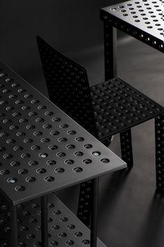 #allinblack  chair:  https://shop.zieta.pl/pl,p,27,96,_chair.html  table: https://shop.zieta.pl/pl,p,27,100,_table.html  shelving system: https://shop.zieta.pl/pl,p,27,101,_sheling_system.html