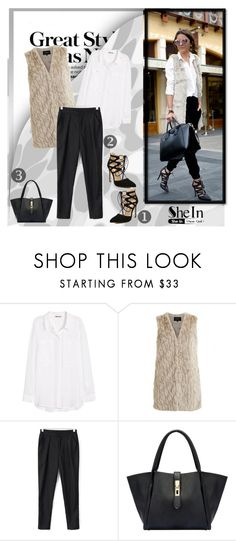 """""""SHEIN 9"""" by melisa-j ❤ liked on Polyvore featuring mode, H&M, VILA, women's clothing, women, female, woman, misses, juniors et shein"""