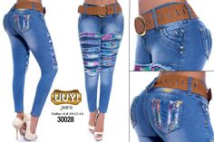 Pantalón colombiano UUY! Jeans +Modelos en: http://www.ropadesdecolombia.com/index.php?route=product/category&path=112