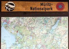 Unterwegs im Müritz Nationalpark | Karte des Müritz Nationalparks (c) Frank Koebsch