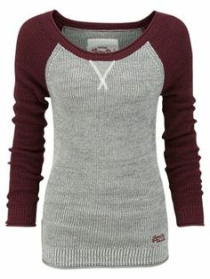 SPARKLY!! Superdry Glitter raglan top Grey - House of Fraser