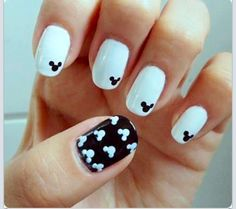 46 Best Mickey Mouse Nail Design Images On Pinterest In 2018 Cute