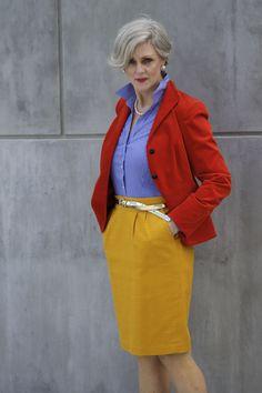 Modelle im Boho-Stil: Nähen oder nicht nähen . Over 60 Fashion, Mature Fashion, Over 50 Womens Fashion, Fashion Over 50, Fashion Tips, Fashion Trends, Fashion Websites, Curvy Fashion, Fashion Ideas