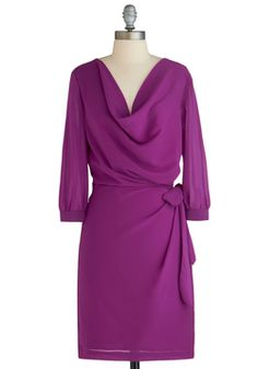 Fuchsia and Far Between Dress, #ModCloth