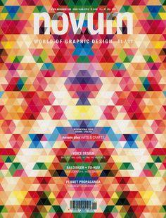 Portada del número de noviembre de la revista Novum, Paperlux, 2011