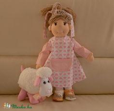 waldorf baba (babamami) - Meska.hu Teddy Bear, Dolls, Animals, Baby Dolls, Animales, Animaux, Puppet, Teddy Bears, Doll