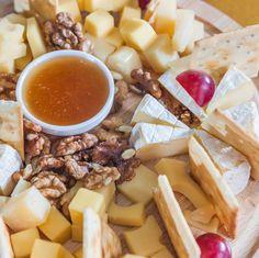Tabla de quesos, presentación y servicio