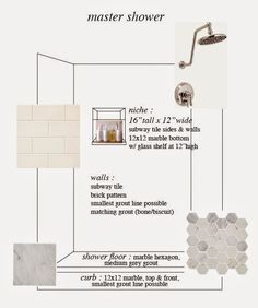 Tile Scheme | Diagram Worksheet | Subway & Marble Hexagon
