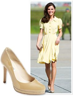 LOVE the L.K. Bennett nude pumps - such a reasonable alternative to the Jimmy Choos.