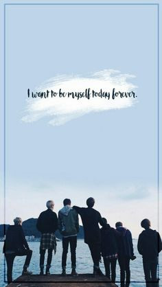 BTS / I Need U / Wallpaper