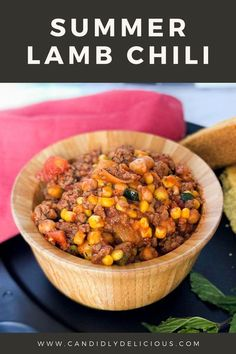 This Summer lamb Chili recipe is perfect for make-ahead. It freezes nicely or can stay on low for many hours, making it ideal as a Shabbat meal. I hope you enjoy this lamb recipe with your loved ones. #shabbat #chili #lamb #lambchili #kosher #makeahead #freezeahead Lamb Chili Recipe, Best Chili Recipe, Chili Recipes, Healthy Chili, Vegetarian Chili, Lamb Recipes, Dog Food Recipes, Pressure Cooker Chili, Meal