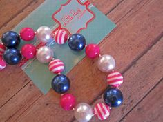 Bubblegum Necklace  Chunky Necklace  by LittlePearlBoutique, $23.00
