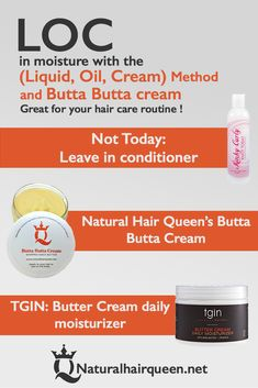 Natural Hair Products, LOC Method, Best Products, Healthy Hair, Infographic #naturalhairstyles #naturalhair #curlyhair #product