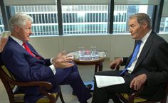 CBS Evening News edited a remark Bill Clinton made in an interview in which he…