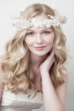 Medieval Circlets And Hair Pieces   Enchanting floral hair accessories for your English wedding — Yelena ...