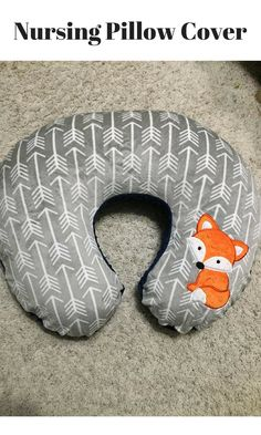 Cute Nursing Boppy Pillow Cover!  #affiliatelink
