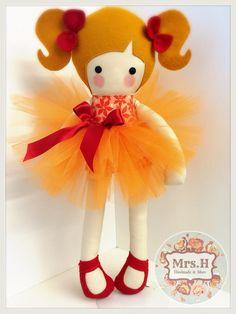 www.mrshhandmadeandmore.bigcartel.com www.facebook.com/mrshmakesdolls Handmade dolls Doll Crafts, Diy Doll, Sewing Crafts, Fabric Toys, Bear Doll, Sewing Dolls, Doll Maker, Waldorf Dolls, Soft Dolls