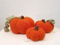 Amigurumi Pumpkins