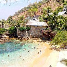 Puerto Angel, Oaxaca Mexico, playa Estacahuite More