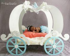 Cinderella Princess Tiara Pumpkin Carriage Prop Newborn Baby Girl Photo Photography Photographer Ideas San Diego Orange County Riverside California