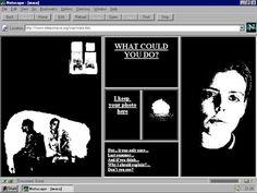 Olia Lialina My Boyfriend Came Back from the War 1996 Net Art – screenshot Courtesy the artist © Olia Lialina