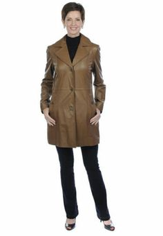 Guillaume Vintage Leather Jacket Soft Brown Size M  Reg. $598.00 Sale $350.00. Achieve a look that will transcend time with this stylish leather jacket from the Case Study Collection by Guillaume. This gorgeous buttery brown lamb leather coat features a variety of thoughtful details that will accentuate any ensemble with its classic look and tailored design. Look fashionably chic and warm, no matter what the weather. Vintage Leather Jacket, Classic Looks, Case Study, Lamb, Weather, Coats, Chic, Stylish, Brown