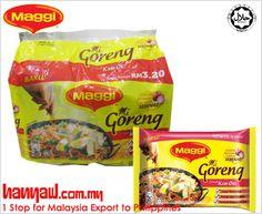We export Maggi Mi Goreng Perencah Kari Ori to philippines. Visit- http://www.hanyaw.com.my/Products/Maggi_Mi_Goreng_Perencah_Kari_Ori.html
