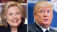 Hillary Clinton y Donald Trump favoritos a las primarias de Iowa de este lunes
