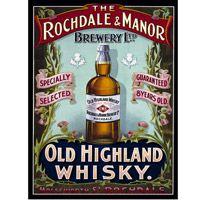 Old Highland Whisky Metal Sign  http://www.retroplanet.com/PROD/35241