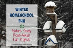 Winter Homeschool Fun | Nature study, read-alouds, and fun projects for winter | homeschoolencouragement.com
