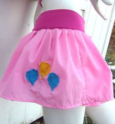 MY LITTLE PONY Skirt Pinkie Pie MLP FiM Cosplay your size Kawaii | PoppysWickedGarden - Clothing on ArtFire