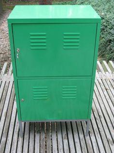 Ikea Metal Locker Cabinet In Bright Green