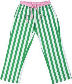 Sant and Abel // Green Fairy Striped Women's Pyjama Pants #pyjamas #stripes