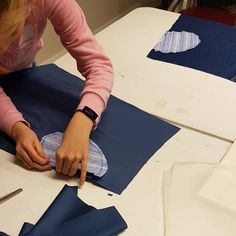 This term my students are learning to make their own skirt, this week we cut out our patterns, finished the pocket edges and started pinning them down to our skirt pieces, front and back. How To Make Skirt, Sewing Class, Sewing For Beginners, Learn To Sew, Students, Pocket, Patterns, Learning, Skirts