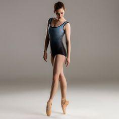 Sharni Spencer in a Keto Dancewear leotard.