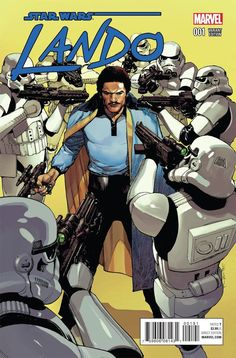 Marvel- Star Wars: Lando #1 1:25 Yu Variant Cover
