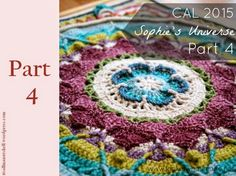 Find all the information for Sophie's Universe, including pattern links, video links, yarn packs and photographs. Resources Photo Tutorial by Dedri Uys Add the Free Pattern to your Ravelry Li… Manta Crochet, Freeform Crochet, Crochet Doilies, Crochet Stitches, Crochet Patterns, Knitting Videos, Crochet Videos, Crochet World, Crochet Instructions