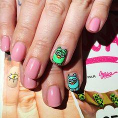 furby nail art