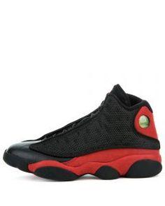 AIR JORDAN 13 RETRO BLACK TRUE RED-WHITE Jordans For Men b86a58031