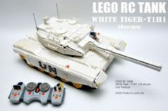 Auto-loading RC Tank, White tiger: A LEGO® creation by GYUTA K. : MOCpages.com