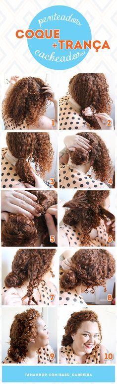 Curly hair do Babu Carreira