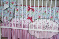 Custom Baby Crib Bedding Design Your Own  by MissPollysPieceGoods,