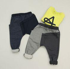 Split Slouch Pants | Color Me WHIMSY
