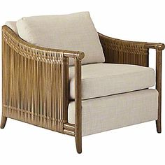 McGuire Furniture: Bill Sofield Jolie Lounge Chair: LA-14